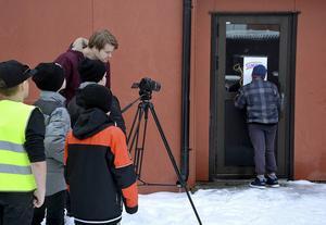Film i Västernorrland hjälper elever i Torpshammar att spela in film. Ett av många Skapande skola-projekt i länet.