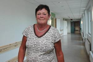 GLAD. Enhetschefen Monica Stark är glad över att kunna visa runt i de nya lokalerna på Bysjöstrand.