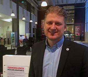 Karl Ternemo, affärsområdeschef för Castellum i Västerås.
