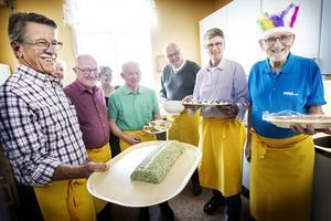 Rolf Erlandsson, Olle Persson, Ulf Myrberg, Karl-Evert Wengelin, Göran Ryttlinger och Astor Andersson var några av de som bjöd på påsktallrik.