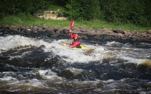 Ljusnan passar såväl nybörjare som erfarna och erbjuder både lugnare paddling och sådan med lite mer fart.