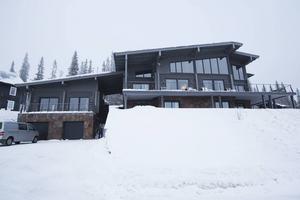 Villan vid Copperhill Mountain Lodge.