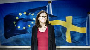 -Det finns ju ingen som spottat ur sig så många konkreta förslag om hur vi ska lösa flyktingkrisen som kommissionen. Det gjorde vi redan innan det blev riktigt allvarligt, säger Cecilia Malmström, som nu sitter sin andra mandatperiod i EU-kommissionen.