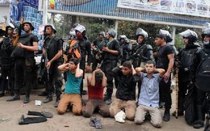 Den egyptiska militären skapade ett blodbad, menar Greider. Foto: Mohammed Asad