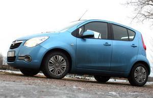 Nya Opel Agila ser liten ut, och är det. Utrymmet i kupén är dock större än vad utanpåskriften ger sken av.