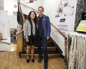 Maria och Ola Jernström är ägarparet bakom det generationsägda familjeföretaget Pontus Ericsson AB i Östersund.