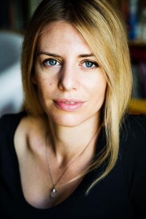 Kajsa Ekis Ekman är en svensk journalist och författare som startat debatt om transpersoner med en text som hon i januari skrev för Aftonbladet kultur. Foto: Eva Lindblad.
