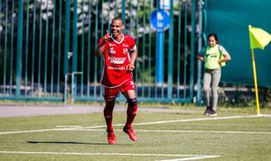 Jakob Eklund satte 3-2 på straff, Sala FF hade då vänt ett 0-2 underläge.