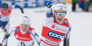 Stina Nilsson var med i det segrande laget.