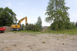 Alla spår av Hotell Borgvik är borta, och på tomten ska så småningom nya bostäder växa fram.
