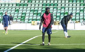 Maic Sema under sin första träning med GIF Sundsvall.