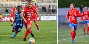 Både Emma Kullberg och Michelle De Jongh kan göra landslagsdebut mot USA inför 20 000 åskådare.