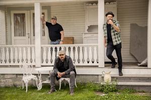 Trion kommer att jobba med ett fullängdsalbum under hösten. Pressbild. Foto: Lina Rörvall