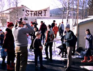 På sportlovet välkomnades barn och ungdomar till Strömsborg för  allehanda aktiviteter, ute som inne. Foto: Familjen Grundström