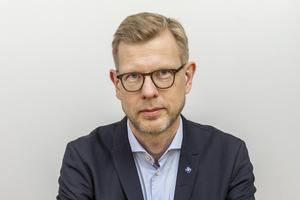Fredrik Lennmyr, överläkare och verksamhetschef för thoraxkirurgiska kliniken på Akademiska sjukhuset i Uppsala.