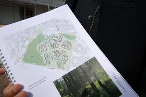 Blandad bebyggelse är det kommunen planerar.