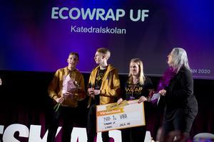 Årets Vara – EcoWrap UF, Katedralskolan.