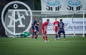 Emil Hjälte blev matchvinnare för Kvarnsveden i kvalfinalen mot Mora.
