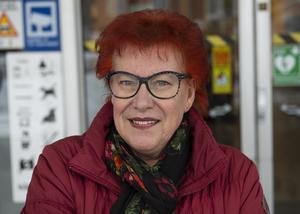 Ulla Åkerlund, 70, pensionär, Sundsvall