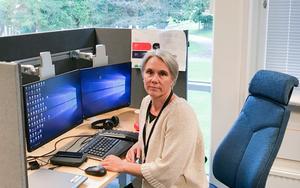 Gunilla Lindros, kommunikatör på Centrala studiestödsnämnden (CSN).