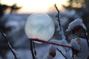 Kan såpbubblor vara ett svar på klimathotet?