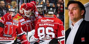 Bengtén berättar i Hockeypuls podcast om visionen med Örebro Hockey. Foto: Bildbyrån.