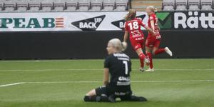 Eveliina Summanen satte 1–0 i fjärde minuten, men glädjen blev kortvarig. Kif hade bara ledningen i tre minuter.