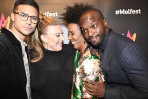 Eric Saade, Marika Carlsson, Sarah Down Finer och Kodjo Akolor är programledare i Melodifestivalen 2019.