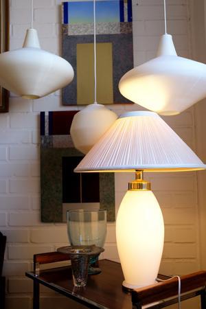 Dan säljer mycket lampor på Returbolaget.