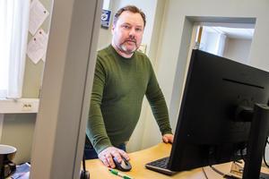 Anders Lans, stadsnätschef för Bollnäs Energi.