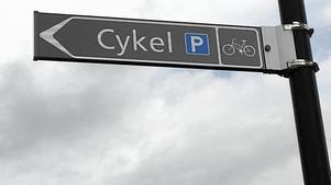 Parkering för cyklar.