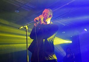 Johan T Karlsson i Familjen uppträdde på Liljan i Borlänge på fredagen.