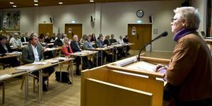 Kommunfullmäktige i Köping. (Foto: Lennye Osbeck)