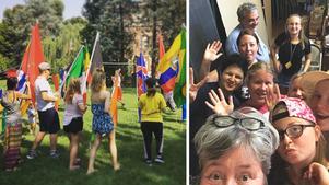 Ungdomar från Sundsvall, Italien, Litauen och Ukraina har samlats i Piacenza.