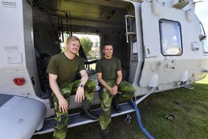 Pontus Larsson och Joel Hector från Ronneby.