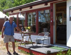 Kaj Utter har varit konstnär i 44 år men satsar nu på turistverksamhet.