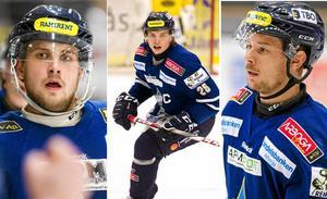 IFK Arboga saknar bland annat sina bästa poängplockare Oliver Nordmark, Linus Ageborg och Jimmy Hellström.