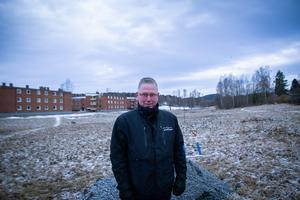 Per-Erik Karlsson, fastighetsgruppen, tycker att det känns bra att bygget nu kan börja.