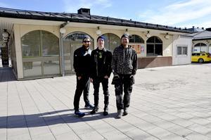 Tord Budenberg, Daniel Gustafsson och Jonas Hamlund står bakom satsningen på Torget.