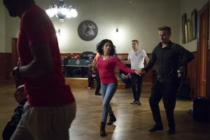När Maria gick i gymnasiet så tävlingsdansade hon. I år tog hon tag i dansen och började både på salsa- och bachatakurs.