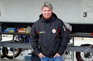 Mikael Teurnberg, lagledare i Rospiggarna.