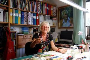 Anita Hillgren Grandert, 2013. Foto: Johan Wahlgren