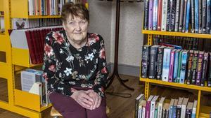 Sonja Karlsson tyckte att de skulle vara tacksamma att Fagersta ville satsa ute i Ängelsberg och hjälpte därför till att starta biblioteket.