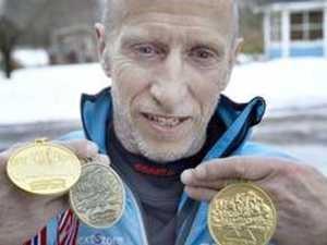 Lars Nilsson från Veteran-VM den senaste vintern.
