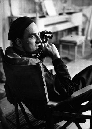 Ingmar Bergmans hundraårsjubileum präglar hela 2018 med en mängd filmer, föreställningar, nya utställningar och böcker. Bild: TT
