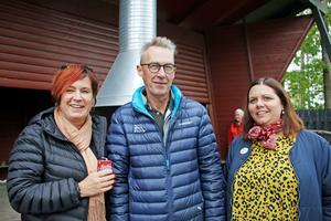 Marica Törnebohm, var rektor när ur- och skurverksamheten startade. Kjell Gunnarsson arbetade med området när verksamheten startades. Caroline Schreiber är nuvarande rektor för förskolan Treudden i Sköllersta.