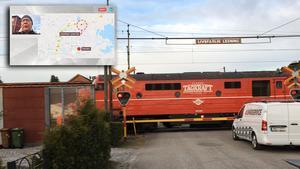 Här bärgades urspårade tåget – tågtrafiken åter igång igen