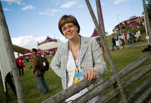 Elisabeth Salander Björklund, från Falun, är vd för Bergviks skog.Foto: Henrik Montgomery / SCANPIX