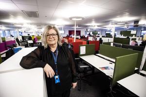 Mona Edin var till på fredagens eftermiddag platschef på Com Hem i Örnsköldsvik.
