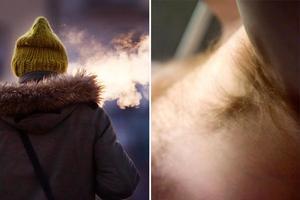 Om du varit ute i kylan med din telefon och snabbt vill värma upp den – stoppa den i armhålan.